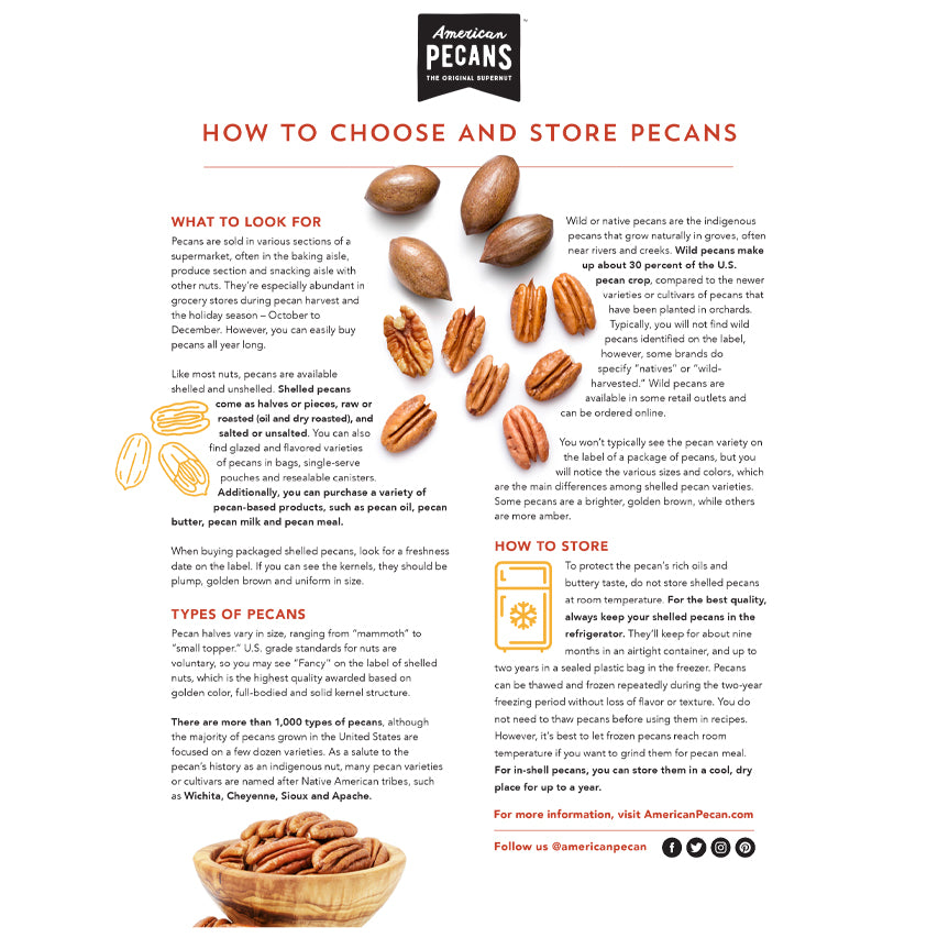 Nut House How to Store Pecans