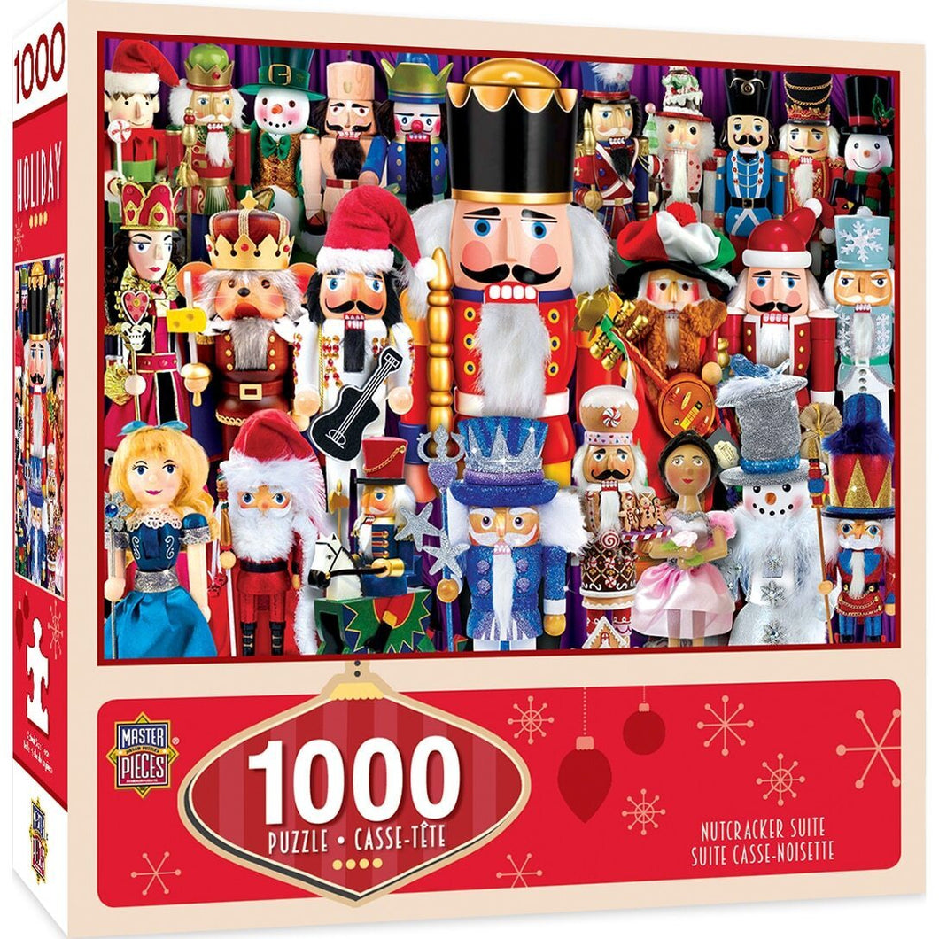 Nutcracker Suite 1000 Piece Holiday Jigsaw Puzzle