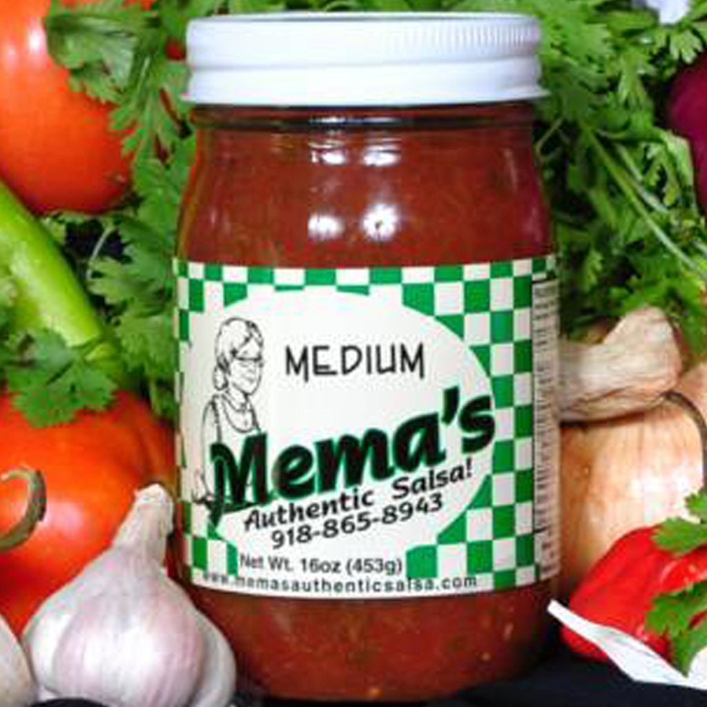 Mema's Medium Salsa