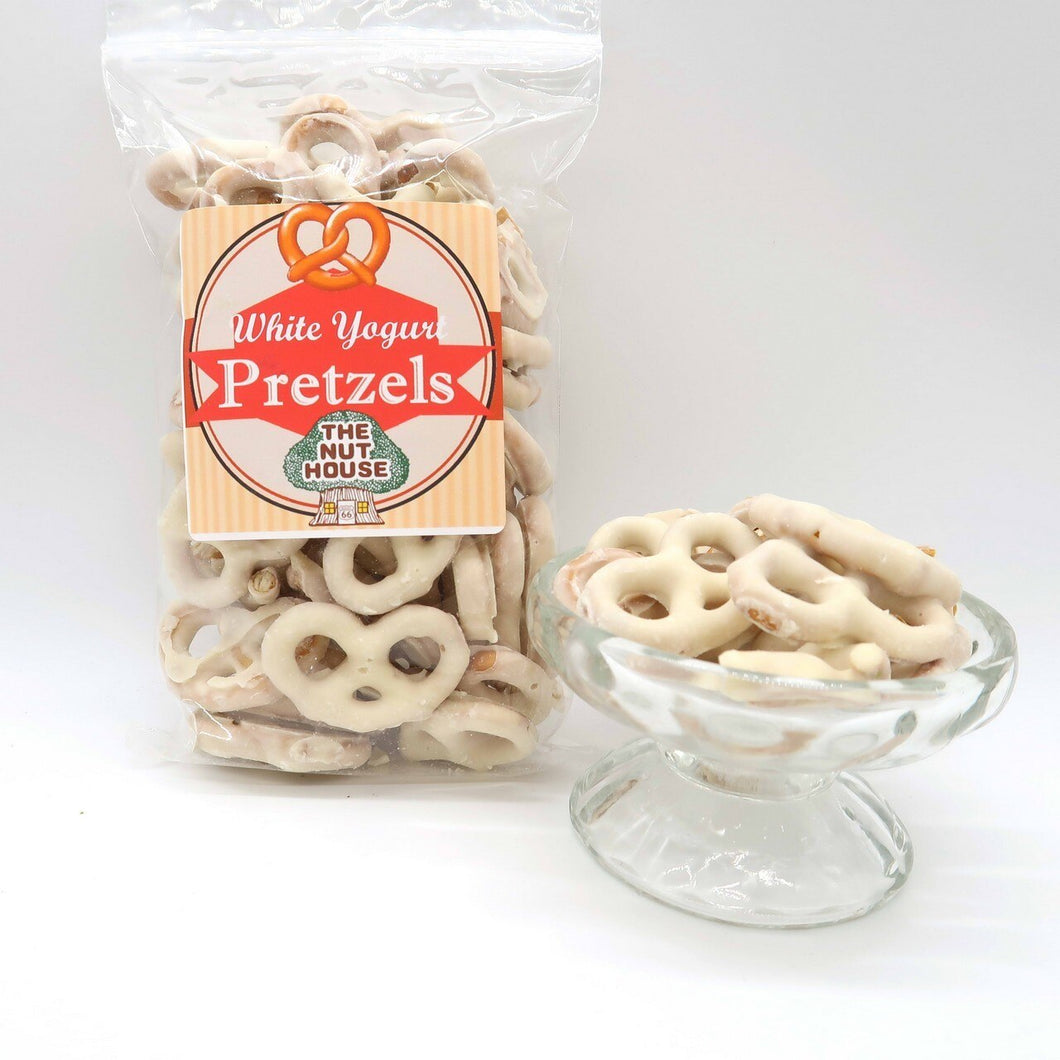White Yogurt Pretzels 8 oz