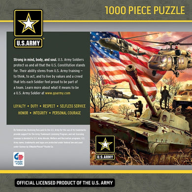 U.S. Army Firepower - 1000 Piece Jigsaw Puzzle