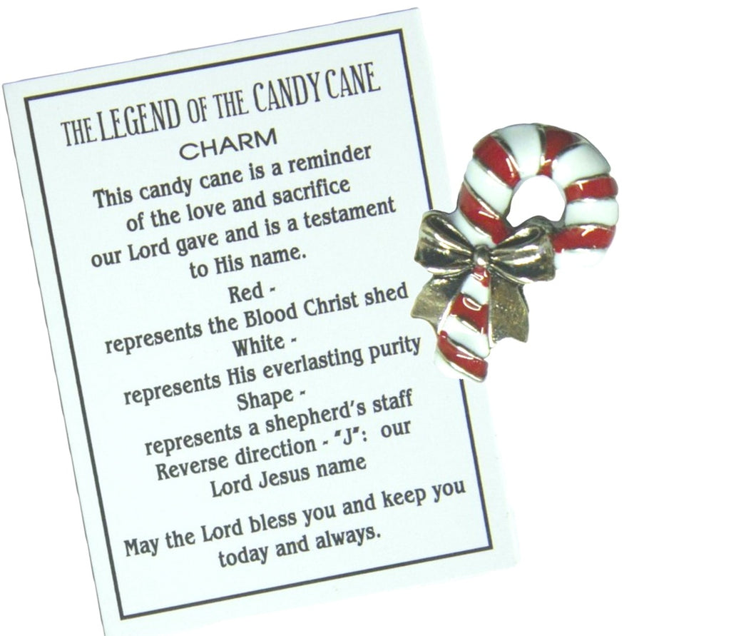 Candy Cane Legend Charm