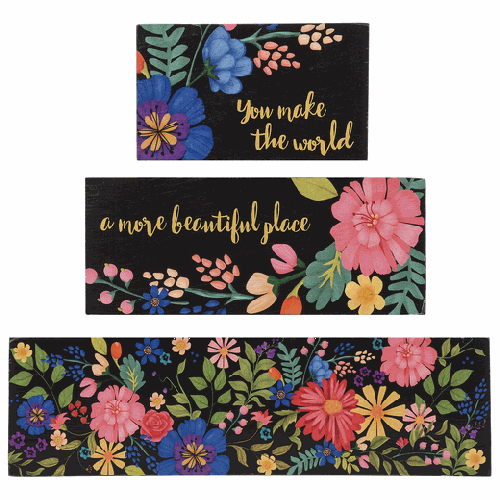 More Beautiful Place Blocks Set of 3