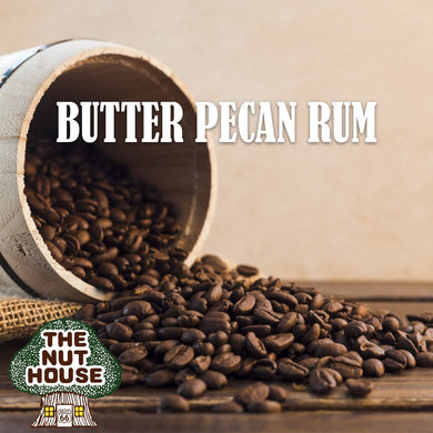 Butter Pecan Rum Coffee 1 lb