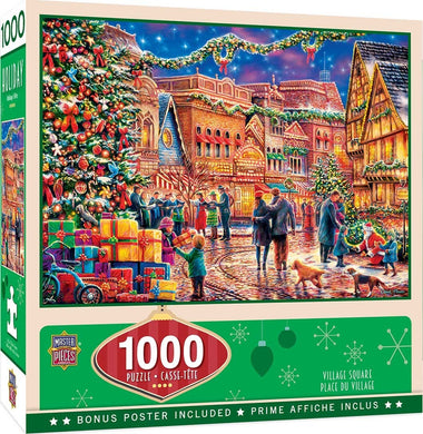 Village Square 1000 Piece Puzzle