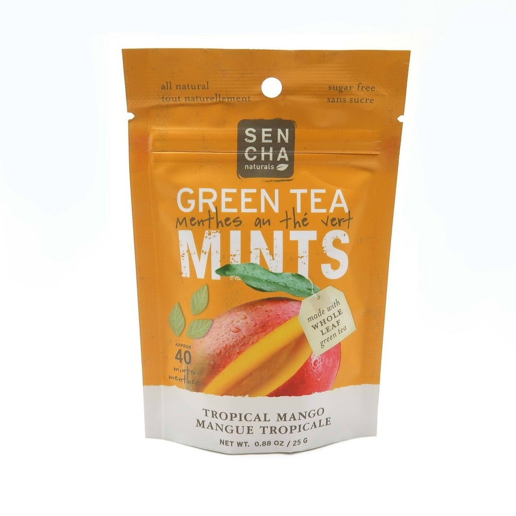 Green Tea Mints Tropical Mango