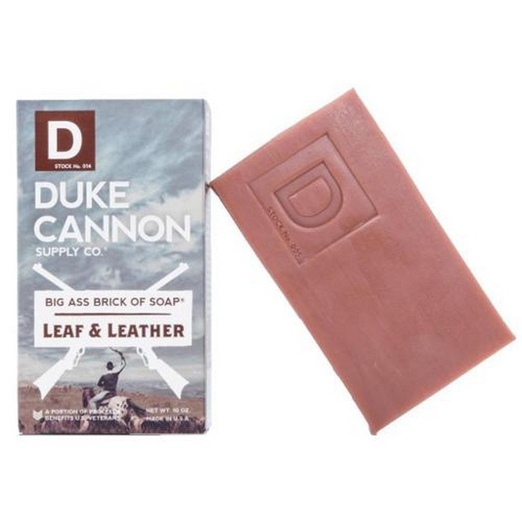 Duke Cannon Leaf And Leather Soap Bar