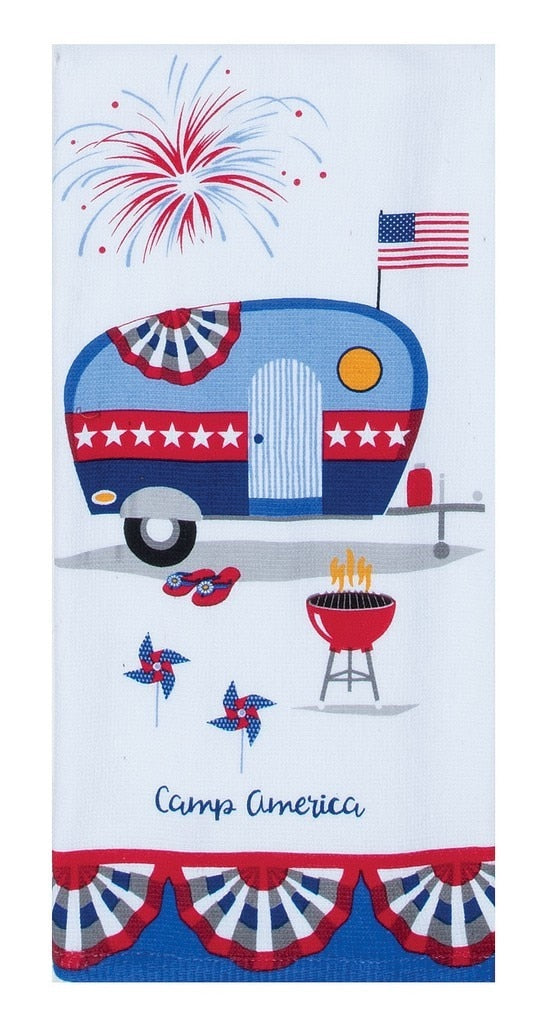 Camp Summer Dual Purpose Towel