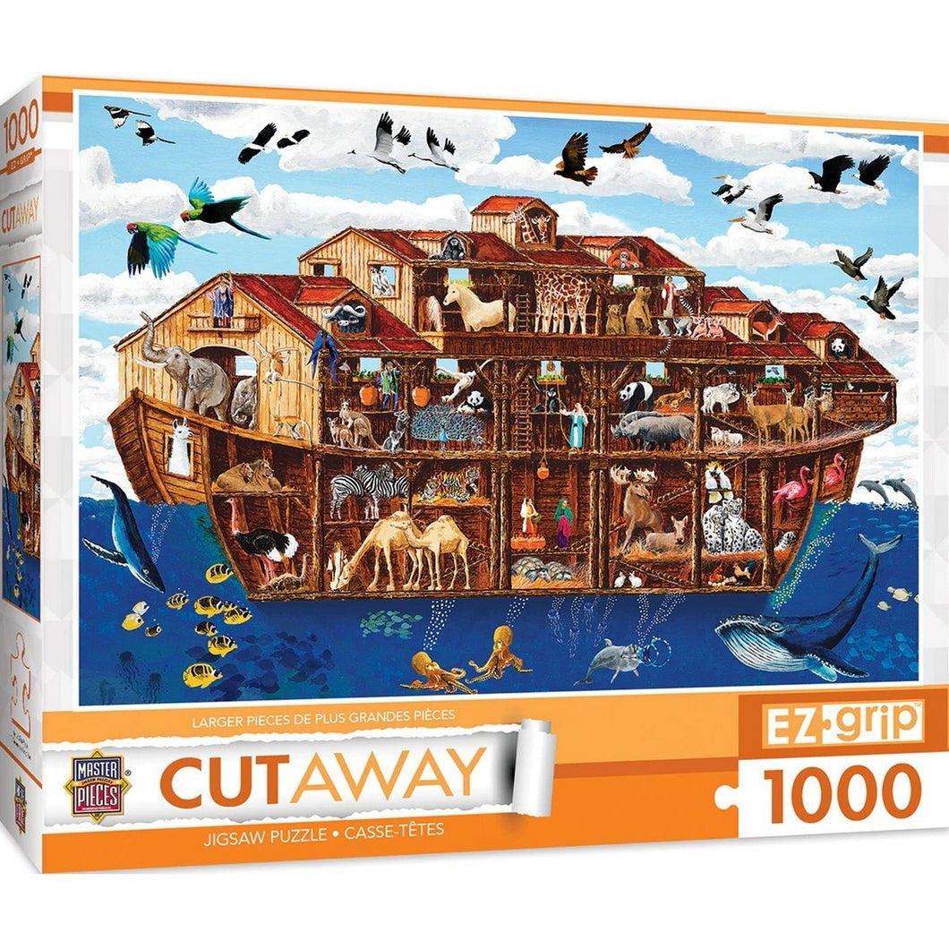 Cut-Aways - Noah's Ark Large 1000 Piece EZ Grip Jigsaw Puzzle