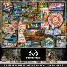 Time Away Around the Lake 1000 Piece Jigsaw Puzzle by Alan Giana