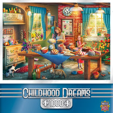 Childhood Dreams - Baking Bread 1000 Piece Jigsaw Puzzle