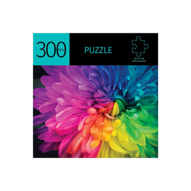 Rainbow Flower 300 Piece Puzzle