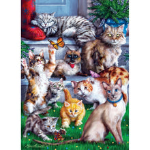 Furry Friends - Butterfly Chasers 1000 Piece Jigsaw Puzzle