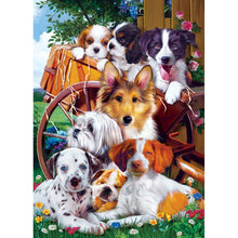 Furry Friends - Ready for Work 1000 Piece Jigsaw Puzzle
