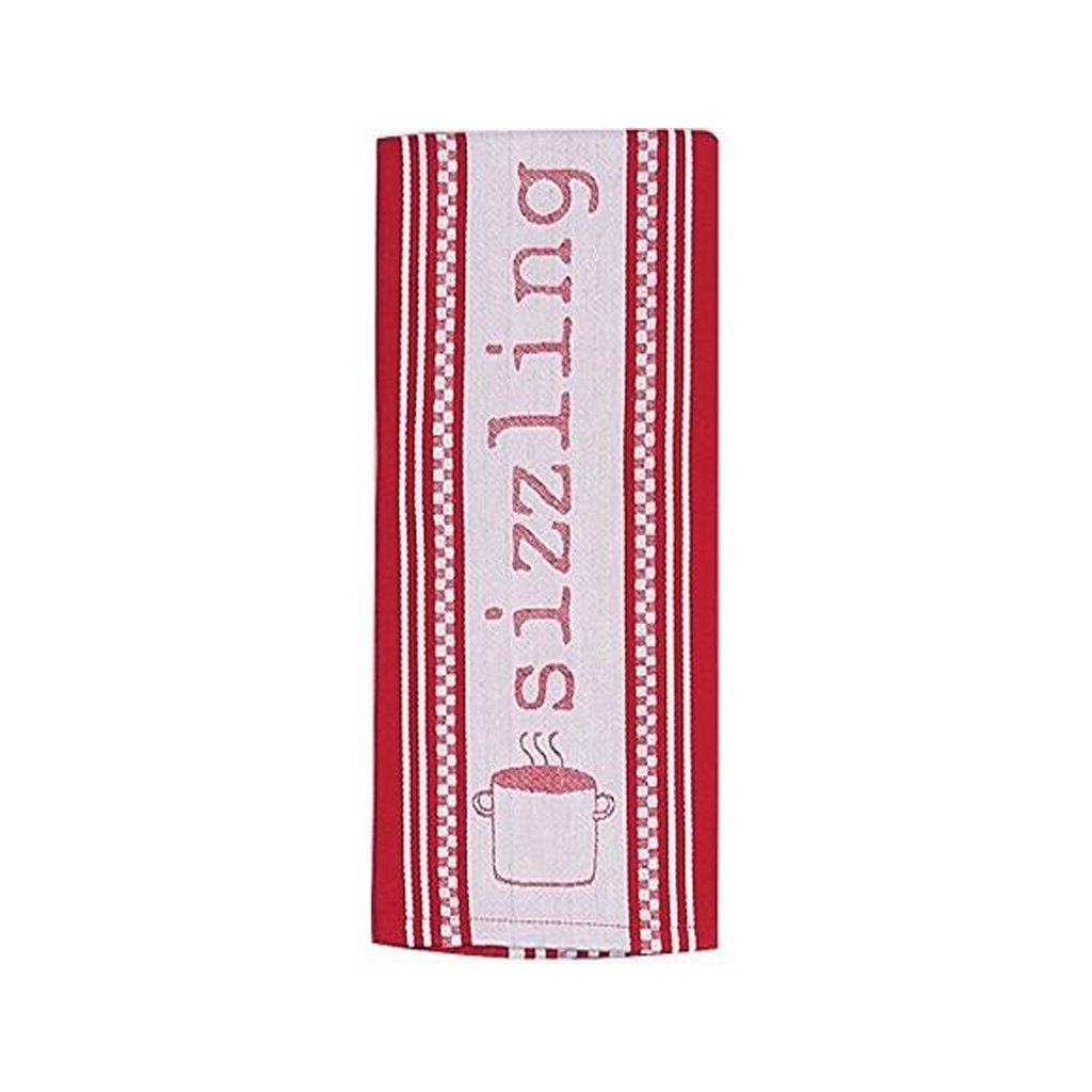 Cookery Sizzling Jacquard Tea Towel