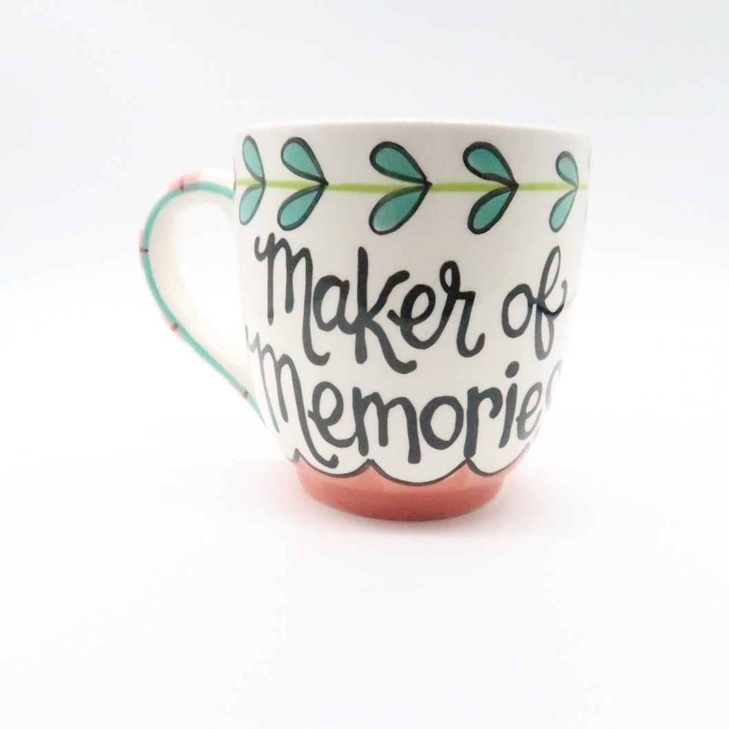 Mom Maker Of Memories Jumbo Mug