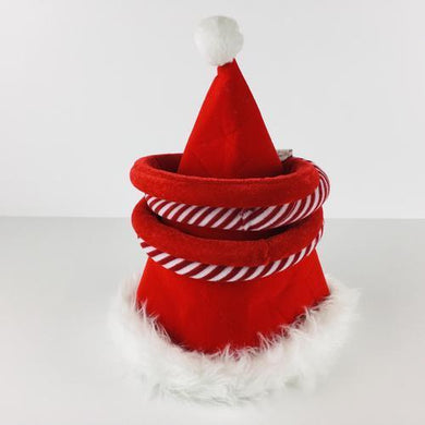 Plush Santa Hat Ring Toss Game