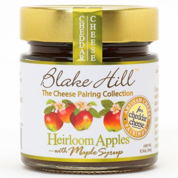 Heirloom Apples with Maple Syrup Jam