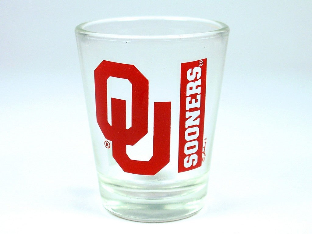 OU Shot Glass