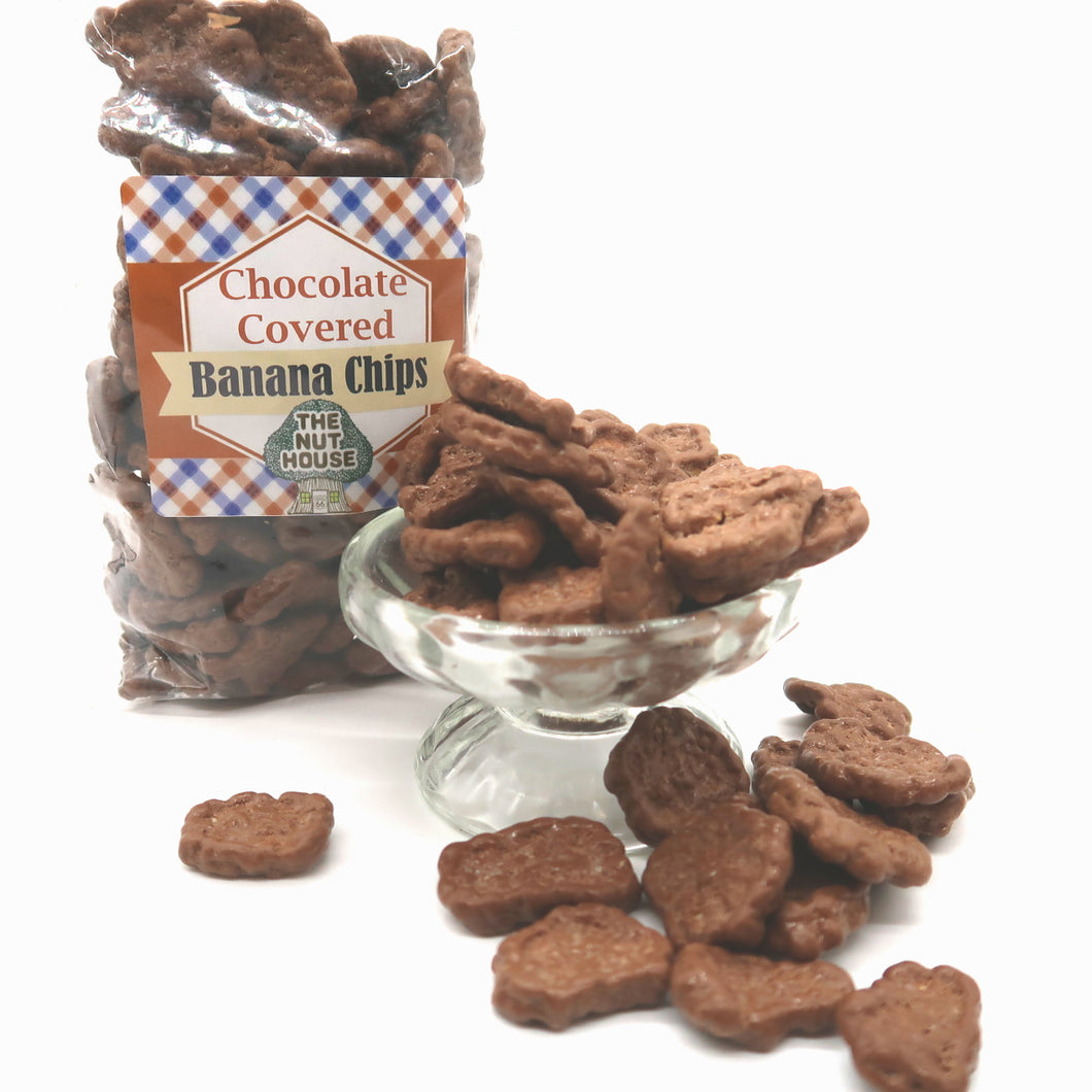 Chocolate Covered Banana Chips 10 oz