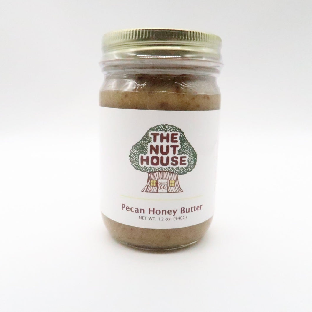 NH Pecan Honey Butter 12 oz