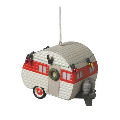 Camper Ornament with Lights