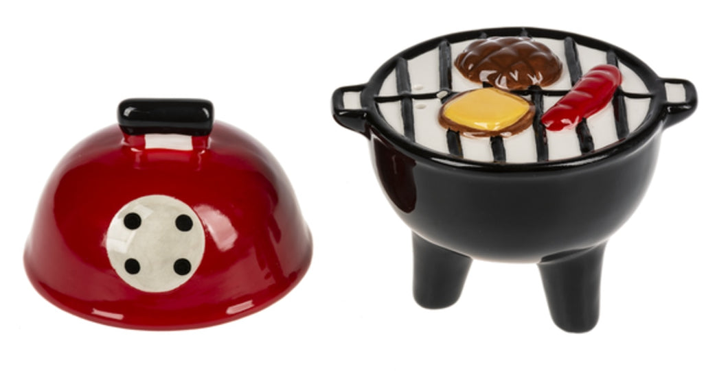 Grill Salt and Pepper Shakers