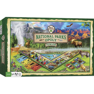 National Parks Opoly Board Game