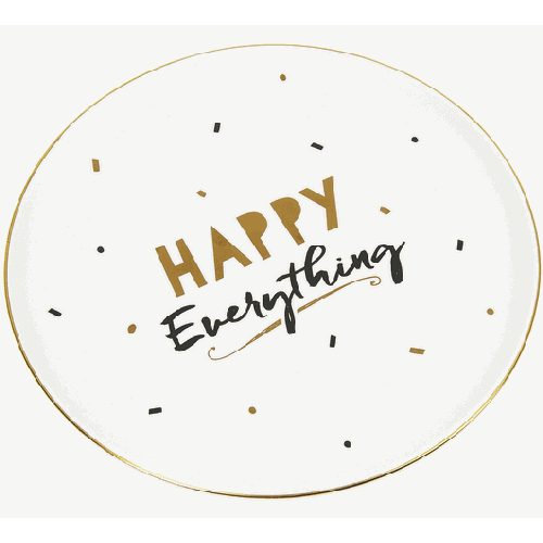 Happy Everything Serving Plate