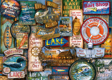 Off to the Lakehouse 1000 Piece Puzzle