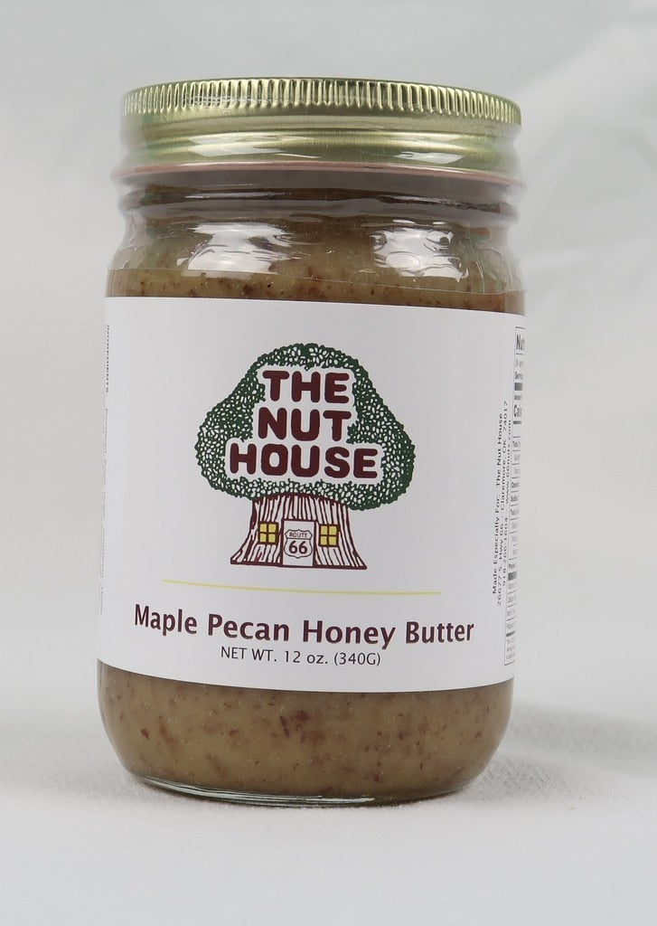 NH Maple Pecan Honey Butter 12 oz