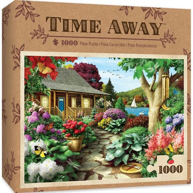 Time Away Dragonfly Garden - 1000 Piece Jigsaw Puzzle by Alan Giana