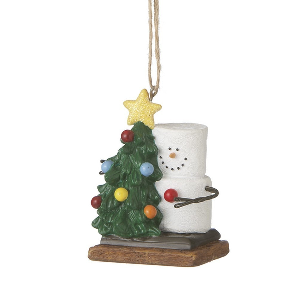 Marshmallow Smore With Tree Ornament