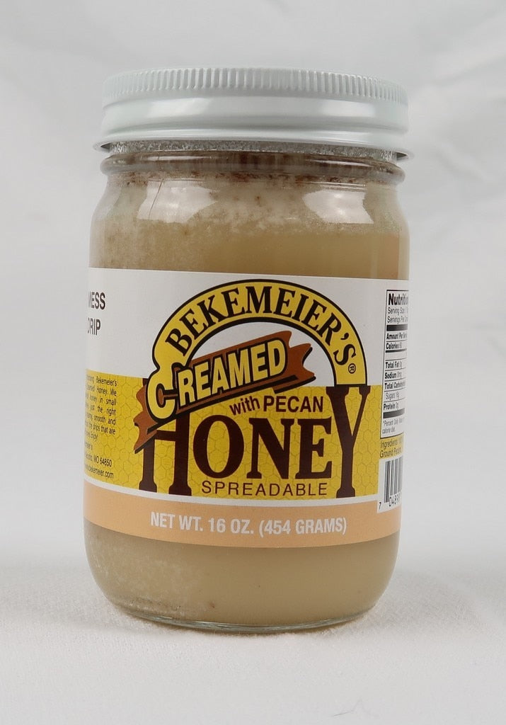 Grand Pa's Spun Honey with Pecans 16 oz