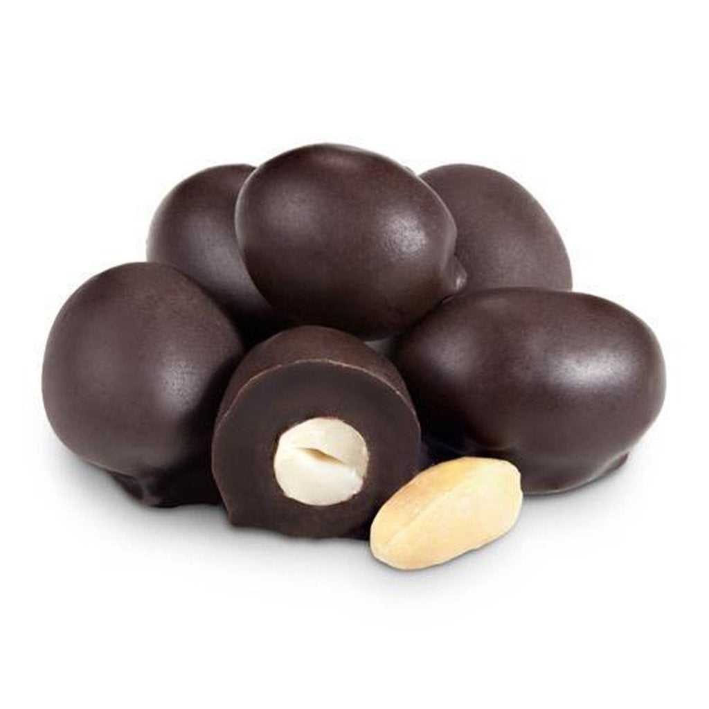 Dark Chocolate Double Dipped Peanuts 16 oz