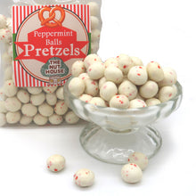 Peppermint Pretzel Balls 8 oz
