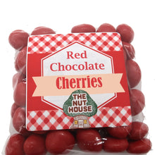Red Chocolate Cherries 8 oz