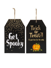 Halloween Tag Wall Plaque