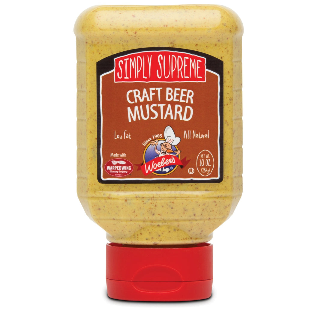 Craft Beer Mustard 10 oz - Woebers
