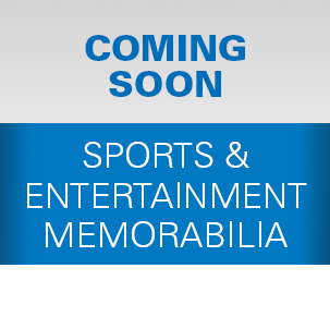 Sports & Entertainment Memorabilia