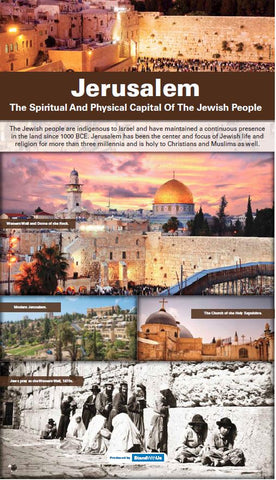 "48""W x 84""H Jerusalem retractable banner"