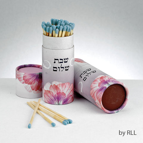 Shabbat Matches, 60 Long Matches in Gift Box