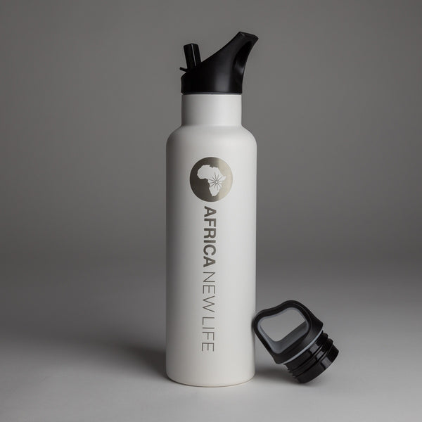 Insulated Bottle with Interchangeable Lids