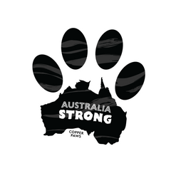 Australia Strong Pawprint