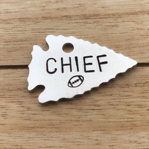 Chief- LIMITED EDITION Simple Style - Copper Paws Dog Tags