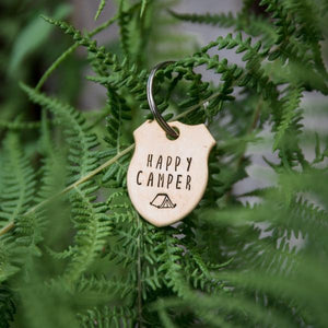 Happy Camper - Copper Paws Dog Tags