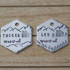 Breck- Winter Collection - Copper Paws Dog Tags