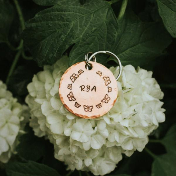 Monarch- Spring Collection - Copper Paws Dog Tags