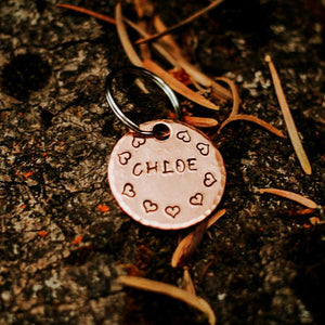 Lover- Kitty Tag - Copper Paws Dog Tags