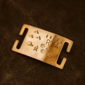 Zion- Wild Slide - Copper Paws Dog Tags